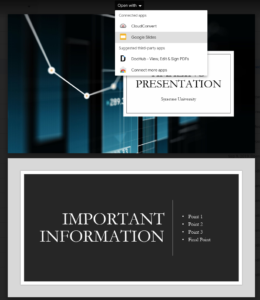 Presentation Preview to Convert